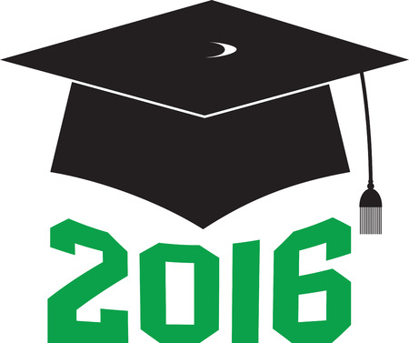 memorable: Have a memorable graduation by embellishing this elegant design on your graduation gown or cap. Illustration