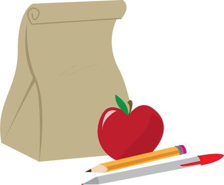 apple sack: Its Back To School time of the year  your kids will love this design on their school backpack.