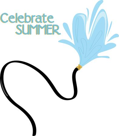 Need a summer splash stay cool with this refreshing design on any of your home or clothing accessories.