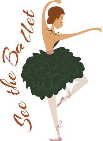 casual clothing: Love Ballerina Then you ought to have this graceful design embellished on your concert or casual clothing.