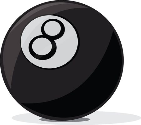 Love fortune telling then you ought to have this 8 Ball design on any of your personal or home fabric. Vettoriali