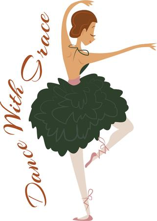 embellished: Love Ballerina Then you ought to have this graceful design embellished on your concert or casual clothing.