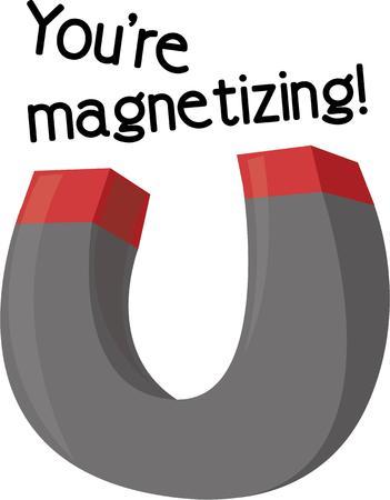 Aantrekken van de tegenstellingen met deze modieuze magneet ontwerp versierd op je casual outfits accessoires