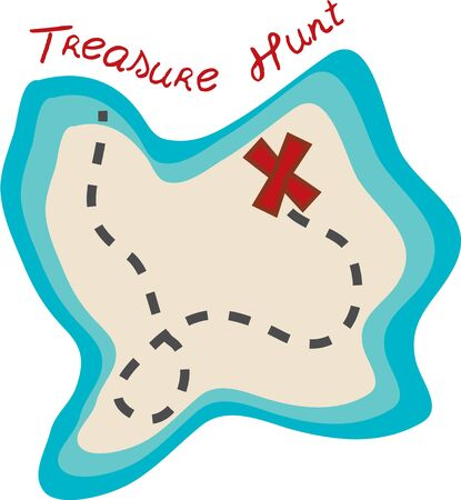 Going on a treasure hunt then this Pirate Map would just be perfect on your activity gear.