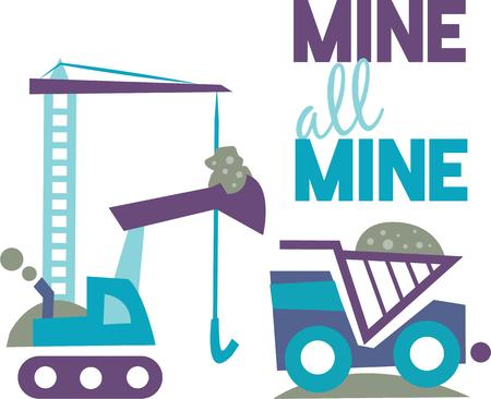 This Miners Life design would make a great gifting idea for your favorite miner.