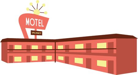 あなたはこのモーテルのデザインは、旅行パックや服に似合うだろうし、熱心な旅行者です。