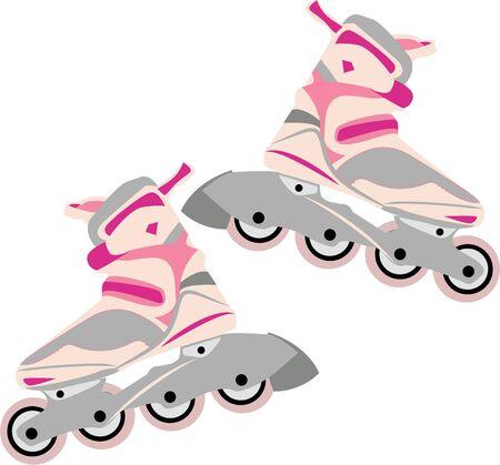 스케이트 복장이나 캐주얼 한 옷에이 세련된 디자인으로 스케이트 기술을 과시하십시오.