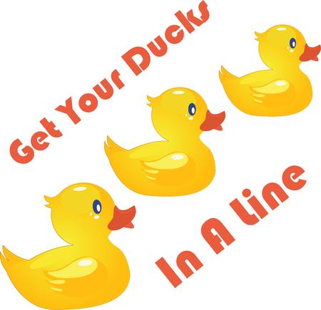 quack: This cute design would just be perfect on your childs backpack, clothing or on your home decorative clothing.
