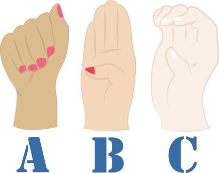instead: Use these hand gestures instead of talking.