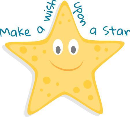 Friends are like Starfish, we always love to see. Ilustração