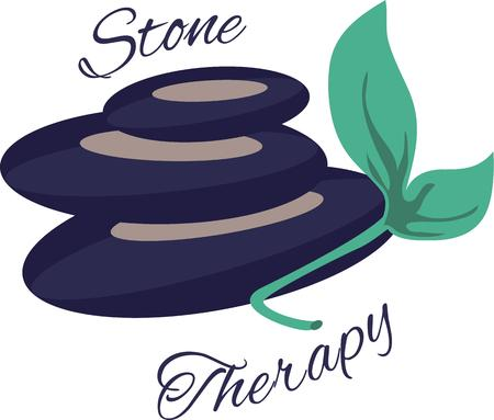 hot rock therapy: Relieve your depression and be mentally strong with the regular massage therapy designed by Embroidery patterns.
