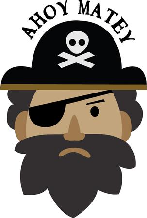 admire: Admire pirates Then this design would just be right to be embossed on your clothing  accessories.