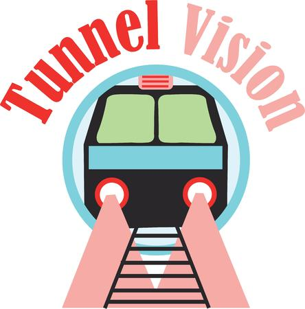 tunnel vision: The Subway is the easiest way to get around the City Centre and West End of Glasgow Illustration