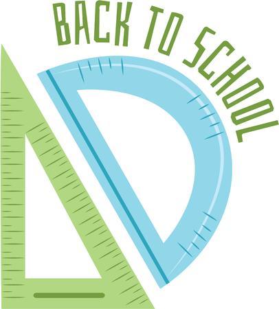 zaino scuola: Ritorno a scuola I bambini potranno divertirsi Questa geometria disegni su uno zaino di scuola. Vettoriali