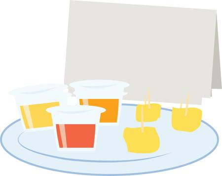 free dish: Use this design for party time.