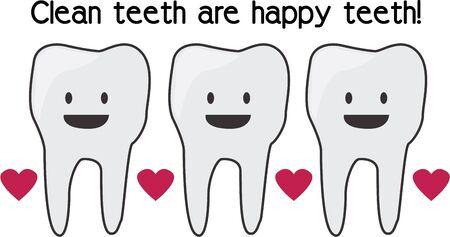 幸せで衛生的なあなたの歯を保つために定期的にクリーンアップします。