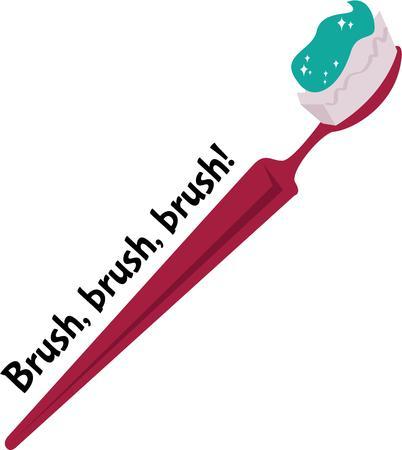 Lo spazzolino da denti è uno strumento di igiene orale per pulire i denti e gengive Archivio Fotografico - 42535153