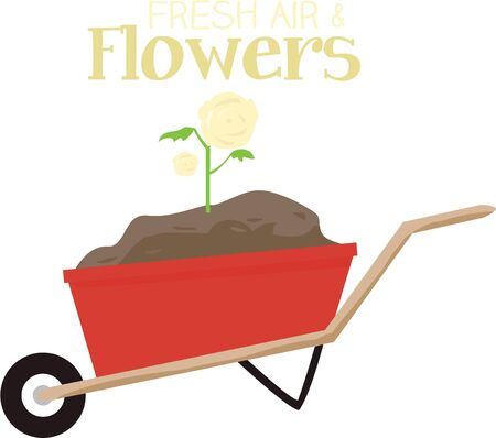 loads: Wheelbarrow is a light vehicle for conveying small loads. Illustration