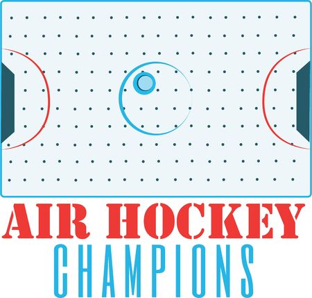 hockey goal: This is a classy emblem for sports apparel or bags.  Stitch this lovely  baseball emblem to support your sport hero Illustration