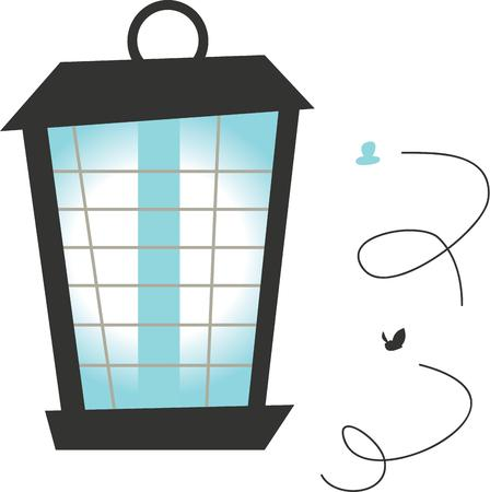 Any of various devices that generate light and often heat,