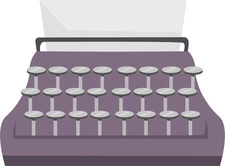 type writer: Esprimi le tue parole facilmente con questo tipo di disegni scrittore disegni da ricamo. Vettoriali