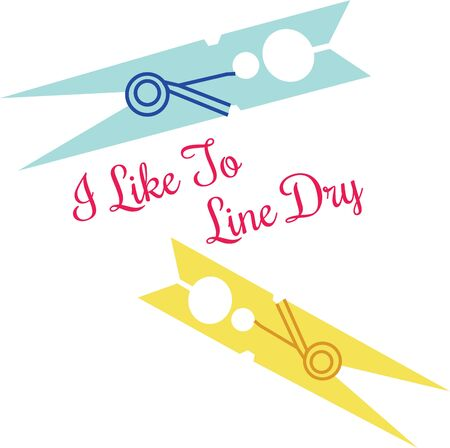Clip up your cloths to dry out with this design by Embroidery patterns.