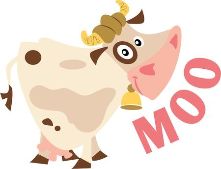 Cow lover Be moooed by this udderly cool design by Embroidery patterns!