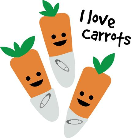 diaper pins: Consumption of more Carrots will keep you healthy.