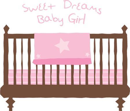 Utilizzare questo disegno per la decorazione della scuola materna di un nuovo bambino nato. Archivio Fotografico - 42636955