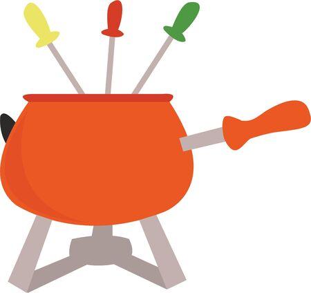 ピクニックのために行くしながら、このデザインを使用します。  イラスト・ベクター素材