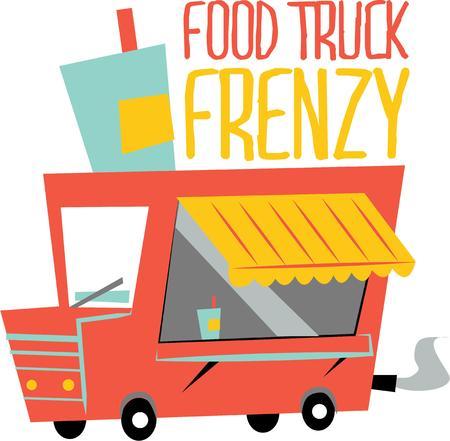 Gebruik deze eten truck voor voedseltransport Stuff
