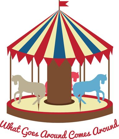 A best outdoor activity for fun is to ride on Carousel.