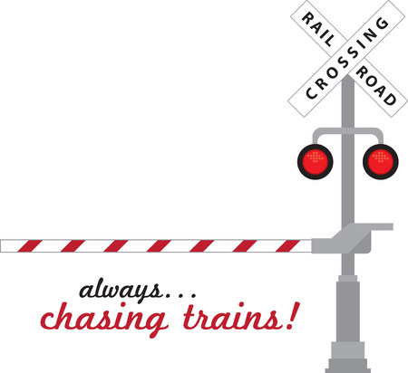 """railway track: """"Volg de Uithangbord instructies tijdens het oversteken van de weg spoor om jezelf te beschermen tegen eventuele ongevallen."""""""