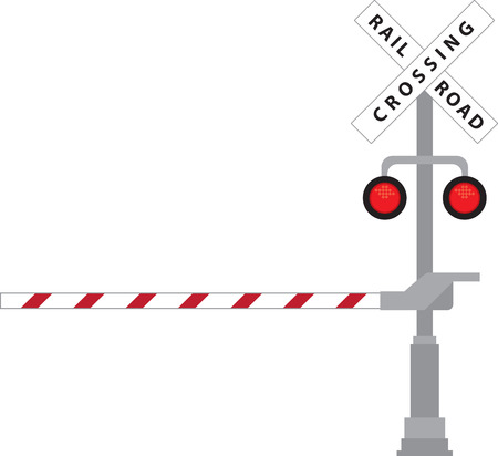 railway track: Follow the Signboard instructions while crossing the road  railway track to protect yourself from any accidents.