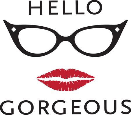 「女の子は他の人が美しく、ゴージャスに呼び出される常に好き」です。  イラスト・ベクター素材