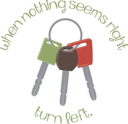 latchkey: Lock your house properly with this key bunch design