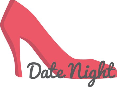 date night: Girls love to dress up in high heels.  They will love this design.