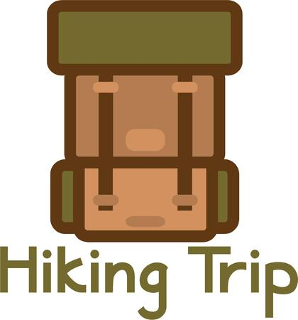haversack: Backpacking through the parks and connecting with nature is a wonderful peaceful way to enjoy your vacation.