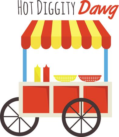 Everyone enjoys a hot dog on game day.  Use this image for your next design.