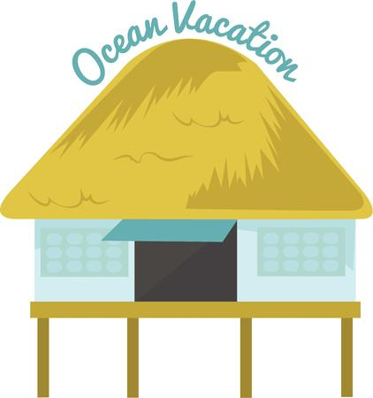 57 Tiki Hut Stock Vector Illustration And Royalty Free Tiki Hut ...