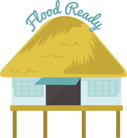 是非、ハワイ島を訪問! サーファーやビーチ来場者は、彼らの旅行の目的地として熱帯のハワイ島をお楽しみください。  イラスト・ベクター素材