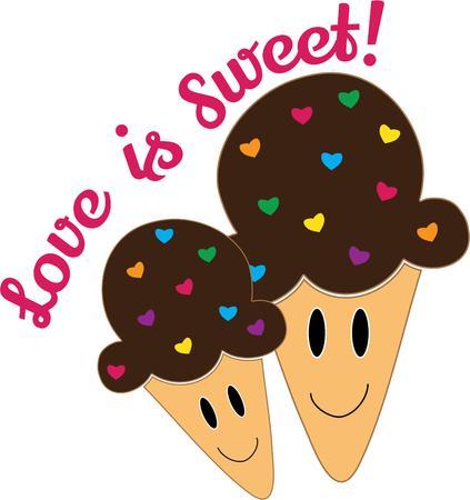 summer day: Conos de helado son ideales para disfrutar en un d�a caluroso de verano!
