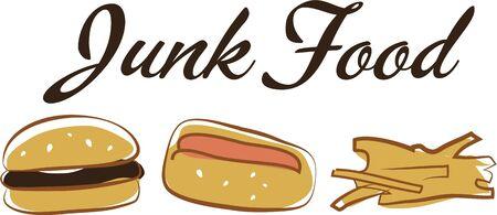 みんなは試合当日、ホット犬とハンバーガーを愛しています。 あなたの次のデザインでフライド ポテトにこのイメージを使用します。