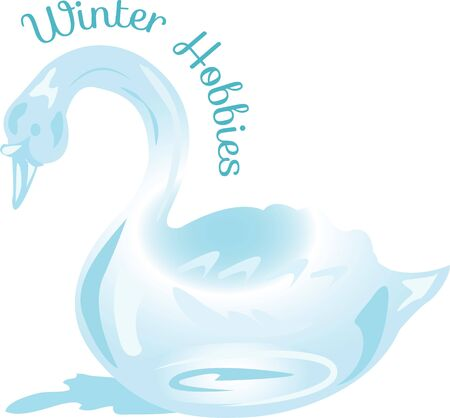 sculptures: Ice carving is a wonderful and skilled hobby.  Show off your talents with this design! Illustration
