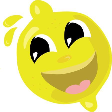 summer day: Limonada en un d�a caluroso de verano es una bebida fant�stica. Utilice este lim�n lindo en su dise�o.