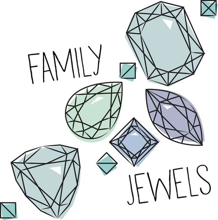 Add beauty and elegance to your creation with this collection of semiprecious stones. Ilustrace