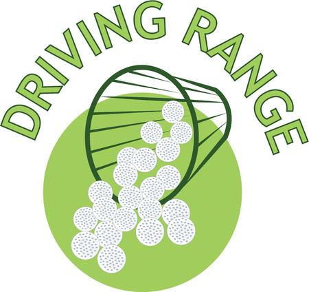 This driving range design is perfect for those who enjoy golf.