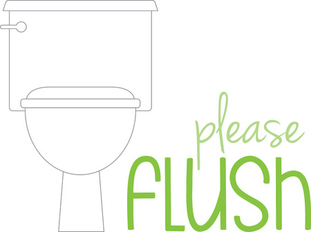 Toilet etiquette is all about hygiene and cleanliness. So, get this design to adorn your bathroom fabric collection.