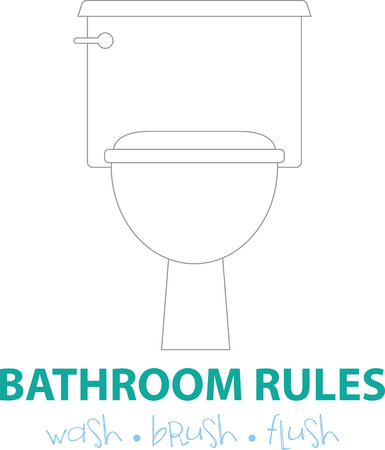 john: Toilet etiquette is all about hygiene and cleanliness. So, get this design to adorn your bathroom fabric collection.