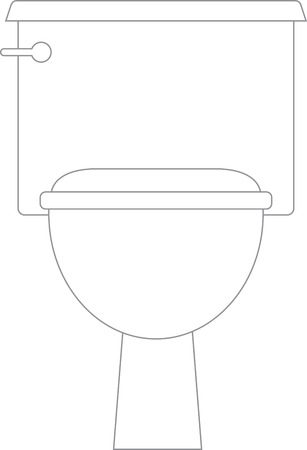 yup: Yup, the toilet is anyones best friend before a show. So, get this design to adorn your bathroom fabric collection. Illustration